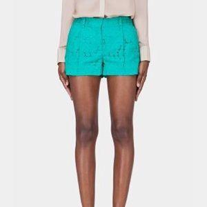 DVD Naples Paisley mint lace shorts size 2